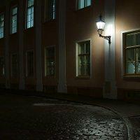 Ночь, улица, фонарь. :: Alex