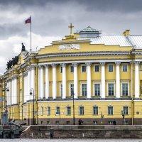 Здание Правительствующего Сената - Конституционный  суд Российской Федерации :: Valeriy Piterskiy