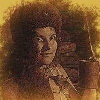 портрет девушки из сороковых :: Юлия Денискина