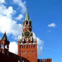 Москва - центр. Спасская башня. :: Владимир Драгунский