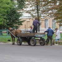 Креативный коммунальный транспорт :: Сергей Тарабара