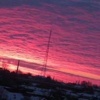 Морозное зимнее утро :: Сергей Философ