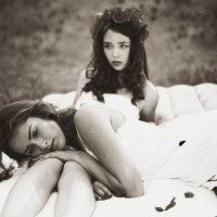 Марина и Маша :: Дина Цакирова