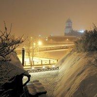 Выборг, украшенный снегом :: Владислав Филипенко