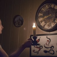 Со свечей :: Валерий Чернов