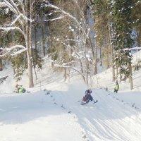 Кросс на снегоходах :: Ольга Тумбаева