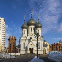 Храм в честь Иконы Божией Матери Знамение - Абалацкая. :: Sergey Kuznetcov