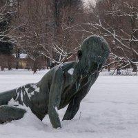 Тоска по лету в зимнем парке :: VL
