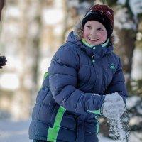 Игра в снежки :: Вячеслав Васильевич Болякин