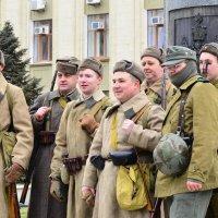 Реставрация освобождения Краснодара от немецко-фашистских войск. :: Береславская Елена
