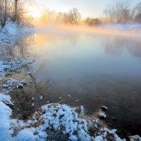 Закатное сияние февраля...2. :: Андрей Войцехов