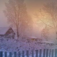 Утро морозное. :: Валентина Налетова