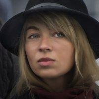 девушка в шляпке :: ник. петрович земцов