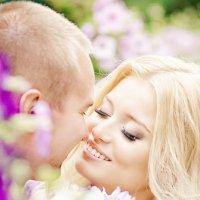 Поцелуй в цветах :: Оля Ветрова