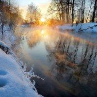 Закатное сияние февраля...3 :: Андрей Войцехов