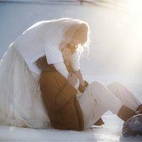 Прекрасная зимняя свадьба от Михаила и Дарьи :: Aleksey Vereev