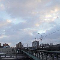 Мост в феврале 2017 года Люберцы. :: Ольга Кривых