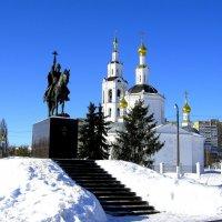 Царь Иван Грозный у Богоявленского собора. :: Борис Митрохин