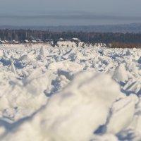 Лёд на Енисее :: Роман Бондарев