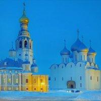 Зимний вечер на Соборной горке :: Валерий Талашов