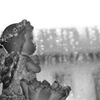 Ангел и дождь. :: Ирина я