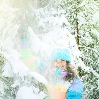 Что еще надо для счастья? Чуточку снега) :: Екатерина Гриб