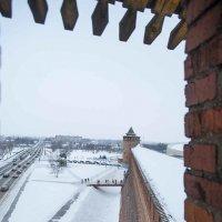 Коломна Кремль  вид на Маринкину башню :: Вячеслав