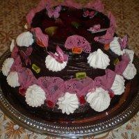 Праздничный торт :: Татьяна Пальчикова