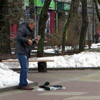 Уличный музыкант :: Татьяна Смоляниченко