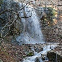 Водопад, оживший после дождя :: Сергей Яворский