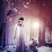 Зимняя магия :: Татьяна Тарасенко