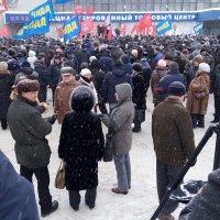 Митинг в Самаре :: Александр Алексеев