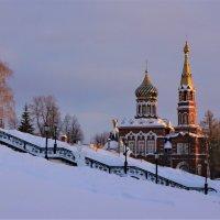 Казанская церковь. Ижевск. Вечер. :: Исаков Александр