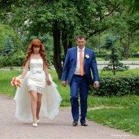 Жених и невеста, тили-тили-тесто! :: Елена Гуляева (mashagulena)
