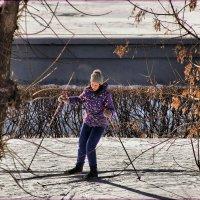 Студентка на утренней пробежке. :: Anatol Livtsov