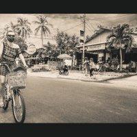 ТурЫстка,велосИпедистка...Муй Нэ,Вьетнам! :: Александр Вивчарик