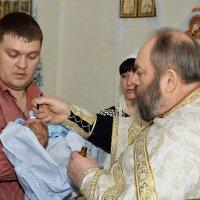 Крещение :: Сергей и Ирина Хомич