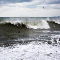 Неспокойное Чёрное Море... :: Дмитрий Петренко