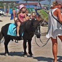 Амазонка на пони :: Нина Корешкова