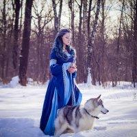 Мария в Эльфийском образе :: Мария
