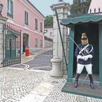 Гвардеец Национальной республиканской гвардии в Лиссабоне :: ИРЭН@ .