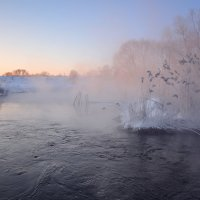 Зимнее морозное утро. :: Анатолий 71