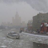 Судоходство в феврале :: Андрей Лукьянов