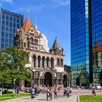 Це́рковь Тро́ицы в Бо́стоне (США) - протестантская епископальная церковь :: Юрий Поляков