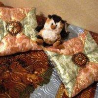 Две подушки и сова :: Дмитрий Никитин