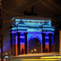 Триумфальная арка 23 февраля 2017 Парк победы :: Виктория Трунова