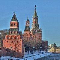 Москва Кремль :: михаил воробьев