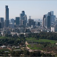 Тель Авив с воздушного шара. :: Lmark
