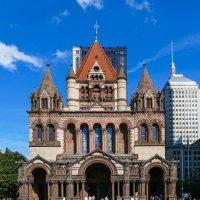 Церковь Троицы в Бостоне (США) - протестантская епископальная церковь, другой ракурс :: Юрий Поляков