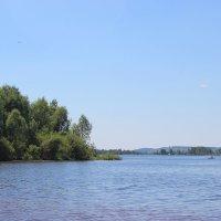река Кама,лето 2016 :: Юлия Кологреева